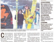 Article de presse Xspeed ski tour